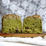 抹茶小豆食パン(ブーランジェリーロア)