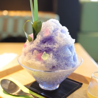 光蜜氷(茶庭 然花抄院 渋谷ヒカリエ ShinQs店 (ぜんかしょういん))