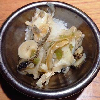 つぶ貝のわさび和え(とり鉄 武蔵新城店 (とりてつ))