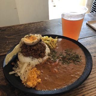 2種盛り(アンドビール)