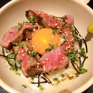 フィレステーキ丼(小)
