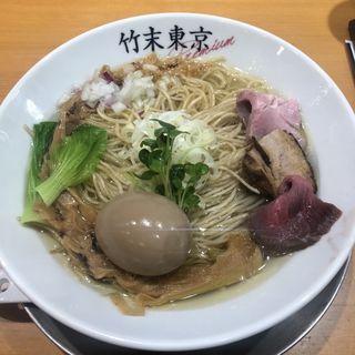 味玉塩そば(竹末東京プレミアム )