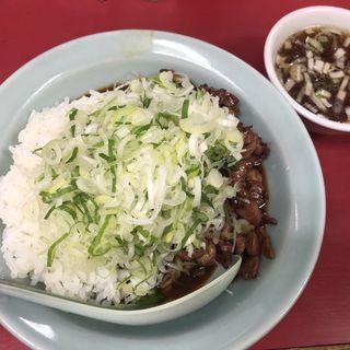 純レバ丼(菜苑 (サイエン))
