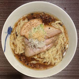 生姜そば(中太手もみ麺)(麺 みつヰ)