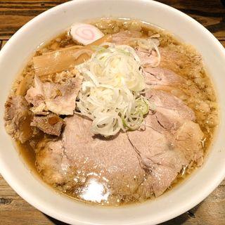 チャーシュー麺(麺屋 翔 本店)