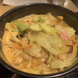 野菜たっぷりちゃんぽんカレーうどん(カレーうどん 千吉 新宿甲州街道店 (かれーうどん せんきち))