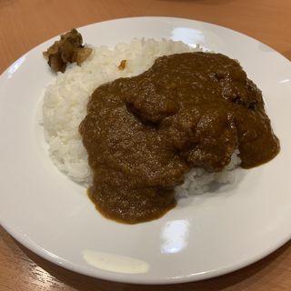 牛スネ肉のビーフカレー(七條 (シチジョウ))