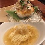 プレミアム新麦と鯛の冷汁(麺 紡木)