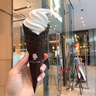 ソフトクリーム ホワイトチョコレート(メリーズ カフェ )