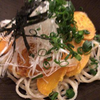 カラスミ蕎麦(手打そば大庵 (だいあん))