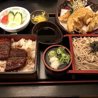 うなぎ天ぷら定食(美ね吉 )
