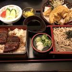 うなぎ天ぷら定食