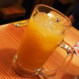 オレンジジュース(鳥貴族 西馬込店)