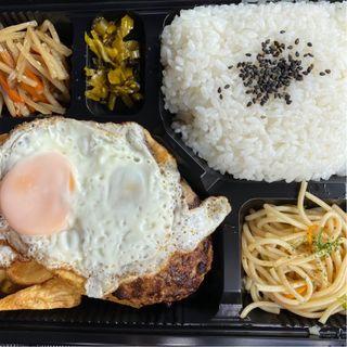 ハンバーグ弁当(すてーき丼屋 )
