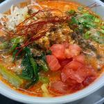 トマト担々麺(担々麺 たかはし)