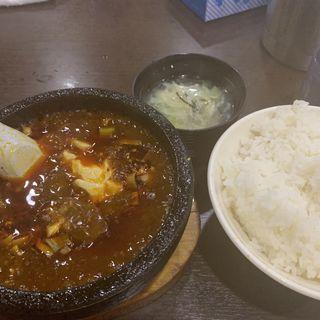 麻婆豆腐(味覚 3号店)