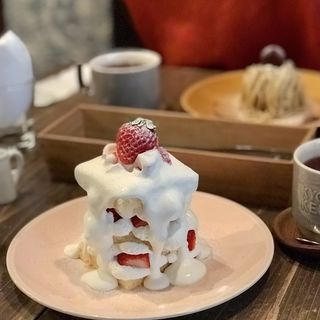 わがままショートケーキ(菓子工房&sweets cafe KYOTO KEIZO)