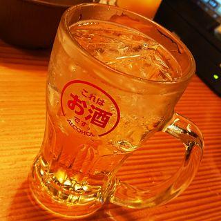 紀州南高梅酒ソーダ割