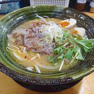 熟成味噌ラーメン(中華そば 丸岡商店 放出店)