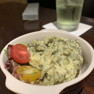 高菜ポテトサラダ(てっぱん523)
