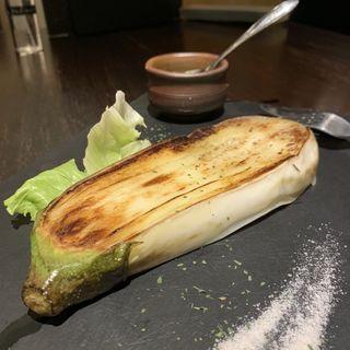 白なすのステーキ(てっぱん523)