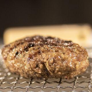 ハンバーグセット(挽肉と米)