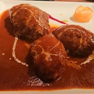 デミグラスハンバーグ(キッチン ハセガワ (Kitchen Hasegawa))