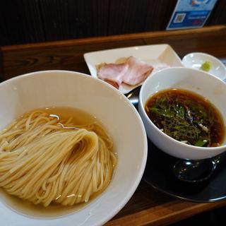昆布水生醤油つけ麺(金彩〜KinIro〜)