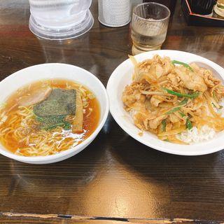 Bセット(焼肉丼、ミニラーメン)(南京亭 国立店 )