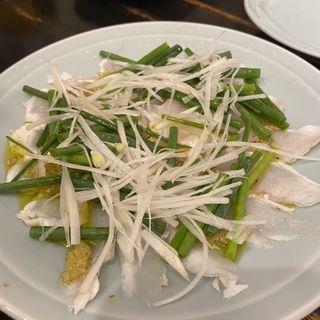 河豚のカルパッチョ(大衆料理 川治 )
