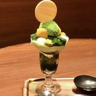 濃茶パフェ(林屋新兵衛 日比谷店)
