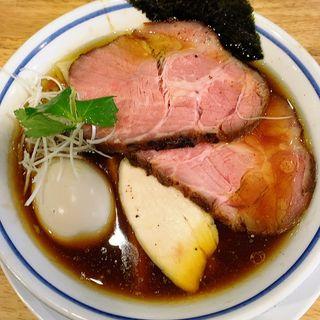 特製中華そば(醤油)(手打式超多加水麺 ののくら)