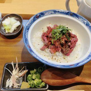 肉のひつまぶし定食(源兵衛 あべの店)