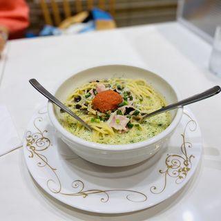 明太子スープスパゲティ(トライアングル )