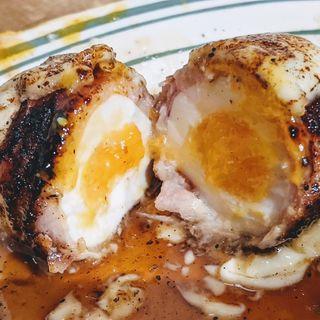 とろけるチーズ卵(チャコール スタンド ノゲ)