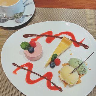 デザートプレート(オリエントカフェ )