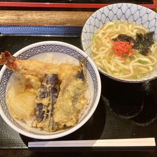 天丼セット(うみかぜ)