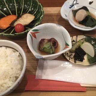鰆と銀鮭の西京焼き盛り合わせ(四季料理 かわ乃)