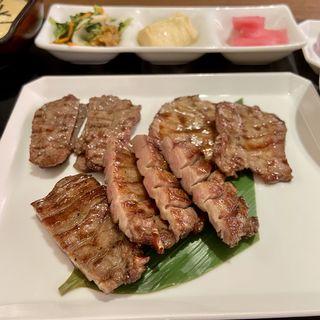 牛たん三種盛りセット(ねぎし タカシマヤタイムズスクエア店 )