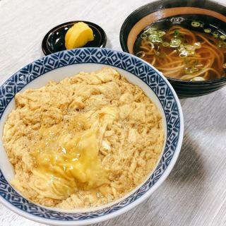 玉子丼とミニ蕎麦(総本家 更科 (さらしな))