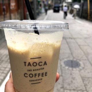 ピーチレモンエスプレッソスムージー(タオカコーヒー OKAMOTO KOBE)