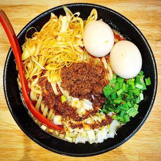 ネギごま麺(ごま麺鉢と棒)