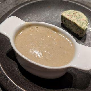 蟹と蟹味噌のバーニャカウダ