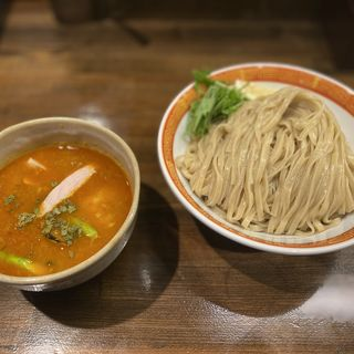 トマトと海老の夏カレーつけ麺