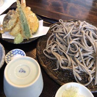 天もり(蕎麦切り 翁 (おきな))