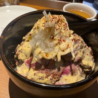 旨馬丼(1ポンドのステーキハンバーグ タケル 秋葉原店 )