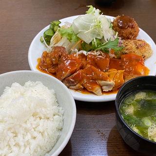 ポークチャップ(洋食の朝日 (ヨウショクノアサヒ))