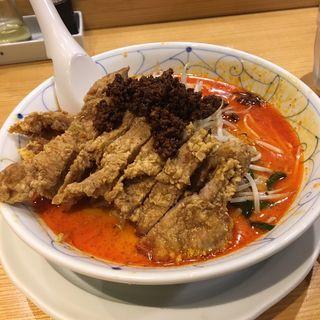 排骨坦々麺(希須林 担々麺屋 赤坂店 (キスリン タンタンメンヤ))