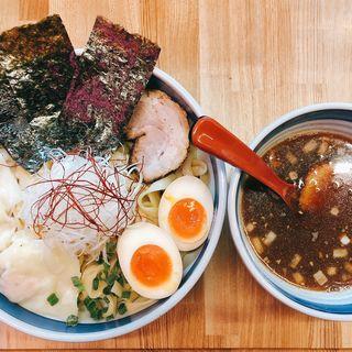 謹製極太平手打ちつけ麺(醤油)(双麺 浅草橋店)