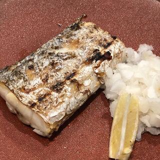 太刀魚塩焼き(千寿一歩一歩)